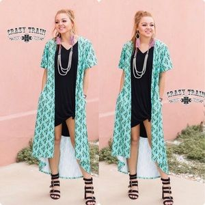 Cast Away Cactus Pocket Duster